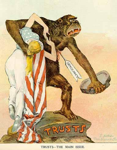 History 1700 Progressive Era Political Cartoons