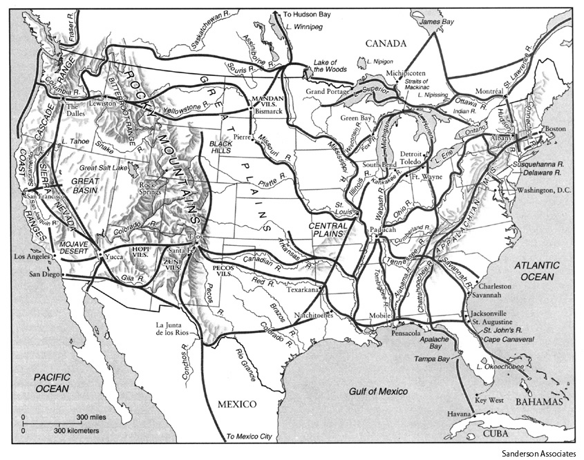 Iroquois trading system