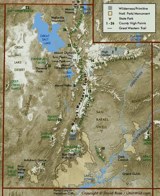 Utah Maps - Utah maps